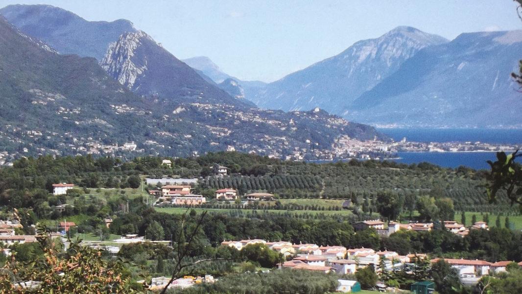 Panorama della Valtènesi sul Garda